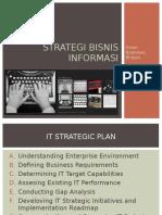 Pertemuan 2 Strategi Bisnis Informasi Irwan Budiman, M.Kom.