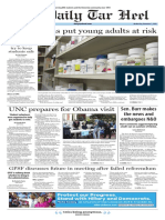 The Daily Tar Heel for Nov. 2, 2016