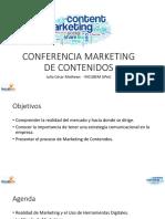Marketing de Contenidos JCM 2016