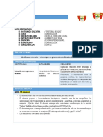 SESIÓN DE APRENDIZAJE N° 02