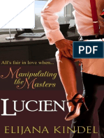 Elijana Kindel - Lucien (Manipulating the Masters #1)