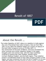 Revolt of 1857