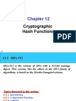 Ch12 Cryptographic Hash Functions