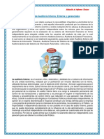 Informe de Auditoria Externa e Interna Y Gerencial