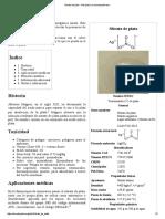 Nitrato de Plata - Wikipedia, La Enciclopedia Libre