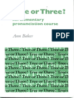 074- Tree or Three (An Elementary Pronunciation Course)_Ann Baker_1982_(with Audio).pdf