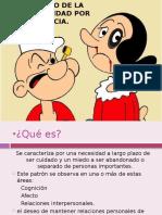 TX Por Dependencia y Toc.