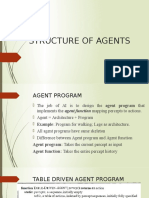 Structure of Agents