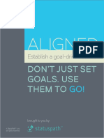 Aligned - Establish a Goal Driven Culture (StatusPath)