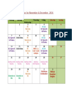 Kindergarten Calendar November December 2016_9660