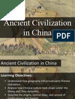 lesson 4 - ancient civilization in china