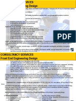 Experience Front End Engineering Design (Feed)