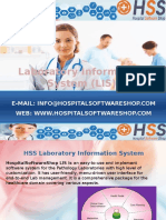 HospitalSoftwareShop - Laboratory Information System LIS