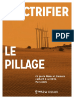 Electrifier le Pillage