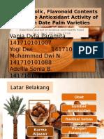 Total Phenolic, Flavonoid Contents and in Vitro