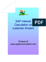 Interest Calculation on Customer Arrears_SF
