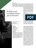 Pino Hidalgo Ricardo Alberto (2010) Ecologia social. Una agenda minima para su discusion.pdf