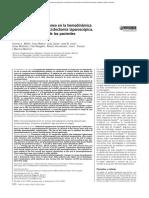 Efecto Del Neumoperitoneo en La Hemodinamica Del Paciente