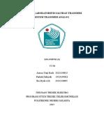 Laporan Praktikum Sistem Transmisi Analog