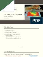11. Pronostico de Produccion Mat. Bal.