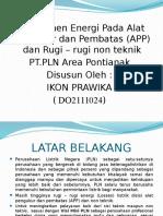Manajemen Energi APP (Dewi)