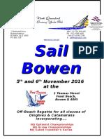 sail bowen sailing instructions 2016