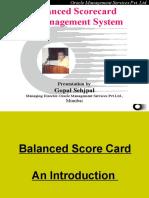 2 Balanced Score Card Introduction