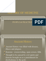 History of Medicine Ancient