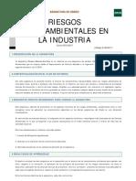 Riesgos medioambientales de la industria