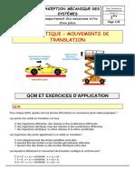 ITEC Mouvements de translation-exercices.pdf