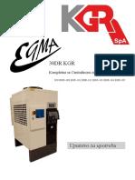 Uputstvo Egma 30DR KGR Srpski