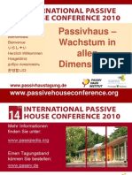 14 Internationale Passivhaus Tagung Zusammenfassende Folien Feist Plenum