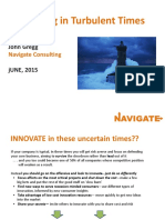 2015-Navigate Innovation in Turbulant Times