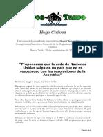 Chavez, Hugo - Texto Discurso En La Onu 2006.doc