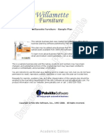 Furniture Store Sample Business Plan