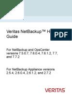 Veritas NetBackup Hotfix Guide