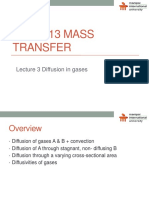 MT Lecture 3 - Diffusion in Gases