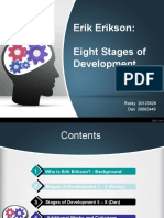Erikerikson Stages of development