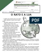 Prova de Avaliação Trimestral PORTUGUÊS - 2.º Período - 3.ºano - 2015_16
