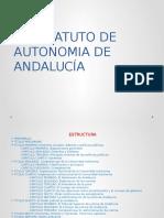 El Estatuto de Autonomia de Andalucía