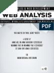 Web Analysis