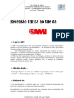 recençao do site