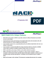 NACH Debit Presentation20 14