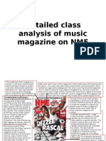 Detailed class analysis of music magazine on NME.pptx