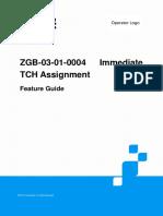 Immediate TCH Assignment