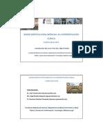 Tipos de Estudios Estadísticos. Medidas de Centralización y Medidas de Dispersión