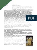 magazineandnewspaperanalysis