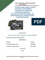Informe de Olivos Reconocimiento de Las Variedades Del INPREX 1