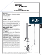 RIM20 Rotor Insertion Flowmeter-Technical Information