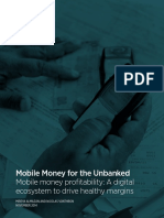 2014 Mobile Money Profitability a Digital Ecosystem to Drive Healthy Margins